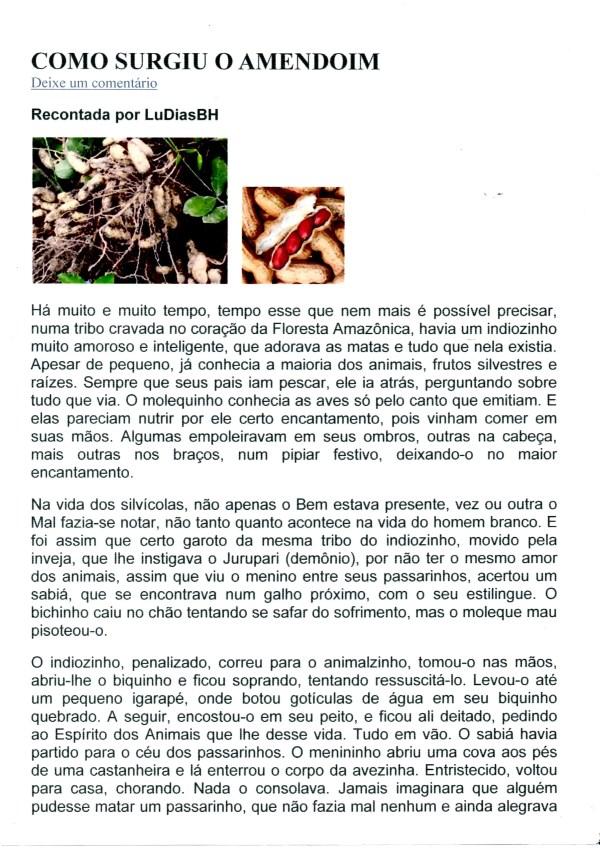 Lenda do Amendoim - página 1
