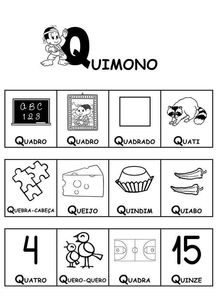 Dicionário da Turma da Mônica-Parte 4 - Q