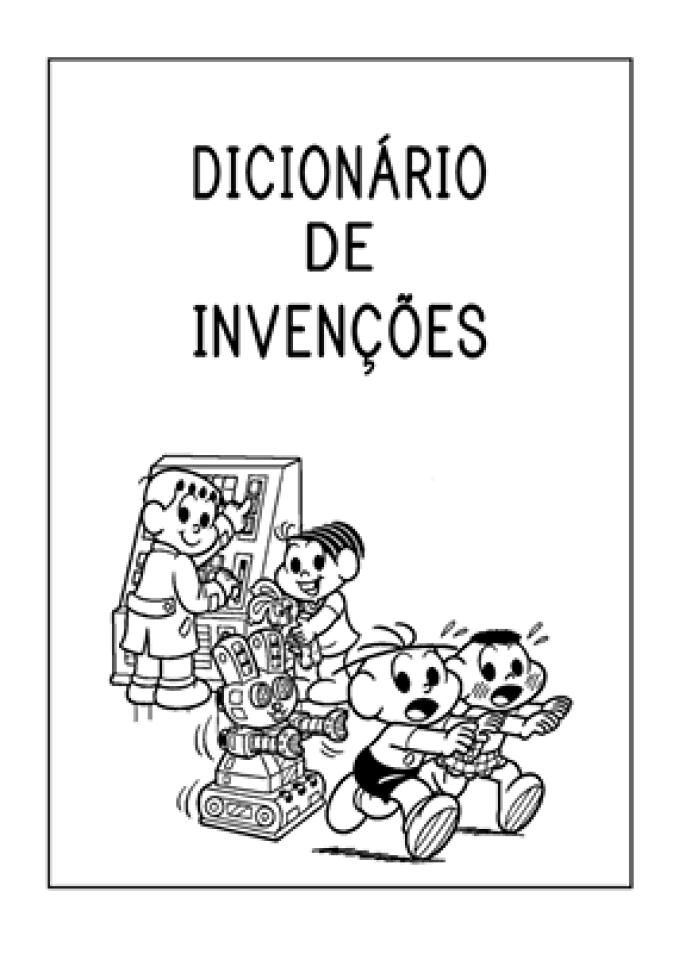Dicionário de Invenções A B C D E - CAPA