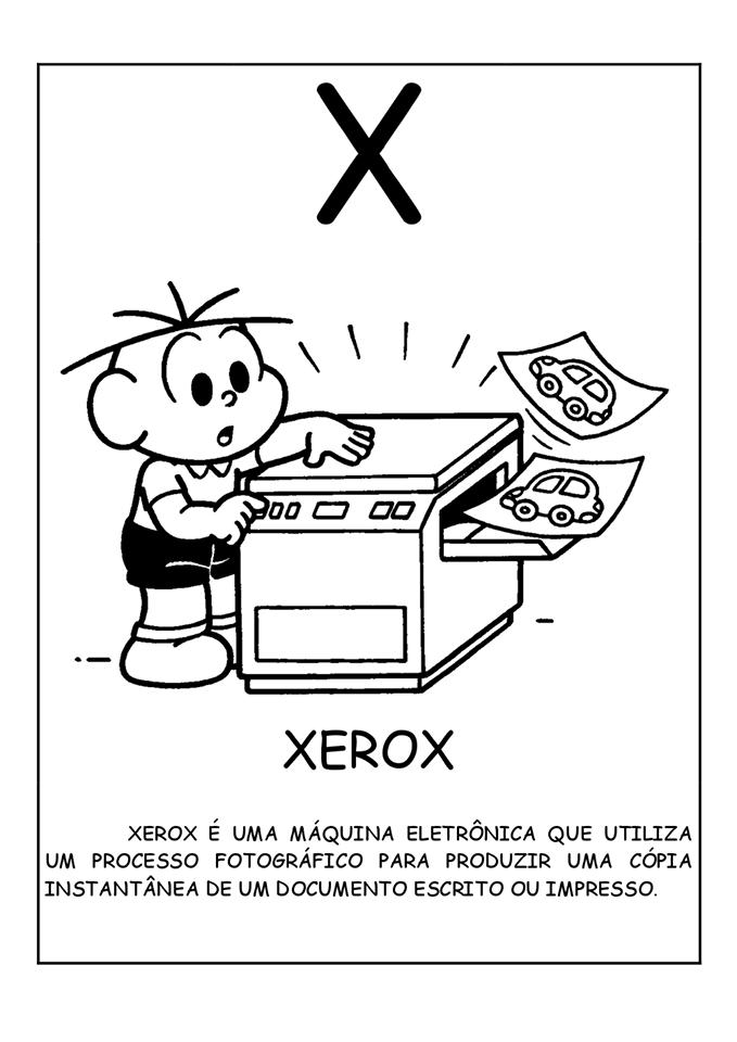Dicionário de Invenções U V W X Y Z - Letra X