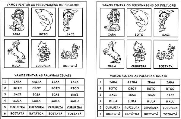 Folclore-Pinte as Palavras Iguais