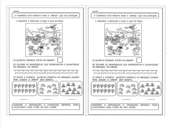 Contagem Junina-Crescente e Decrescente-Folha 1