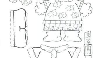 Papai Noel Para Colorir E Montar 2 Alfabetizacao Blog