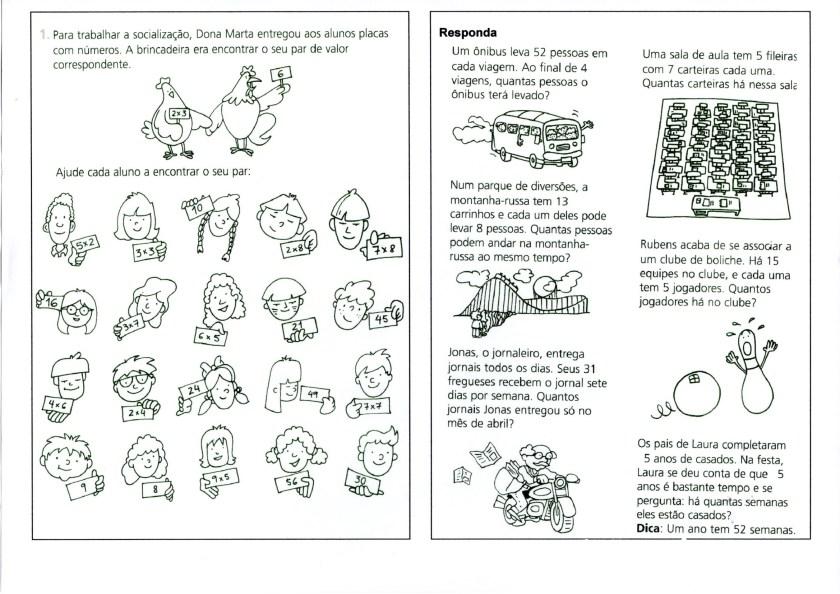 Multiplicação-Noções Atividades e Problemas