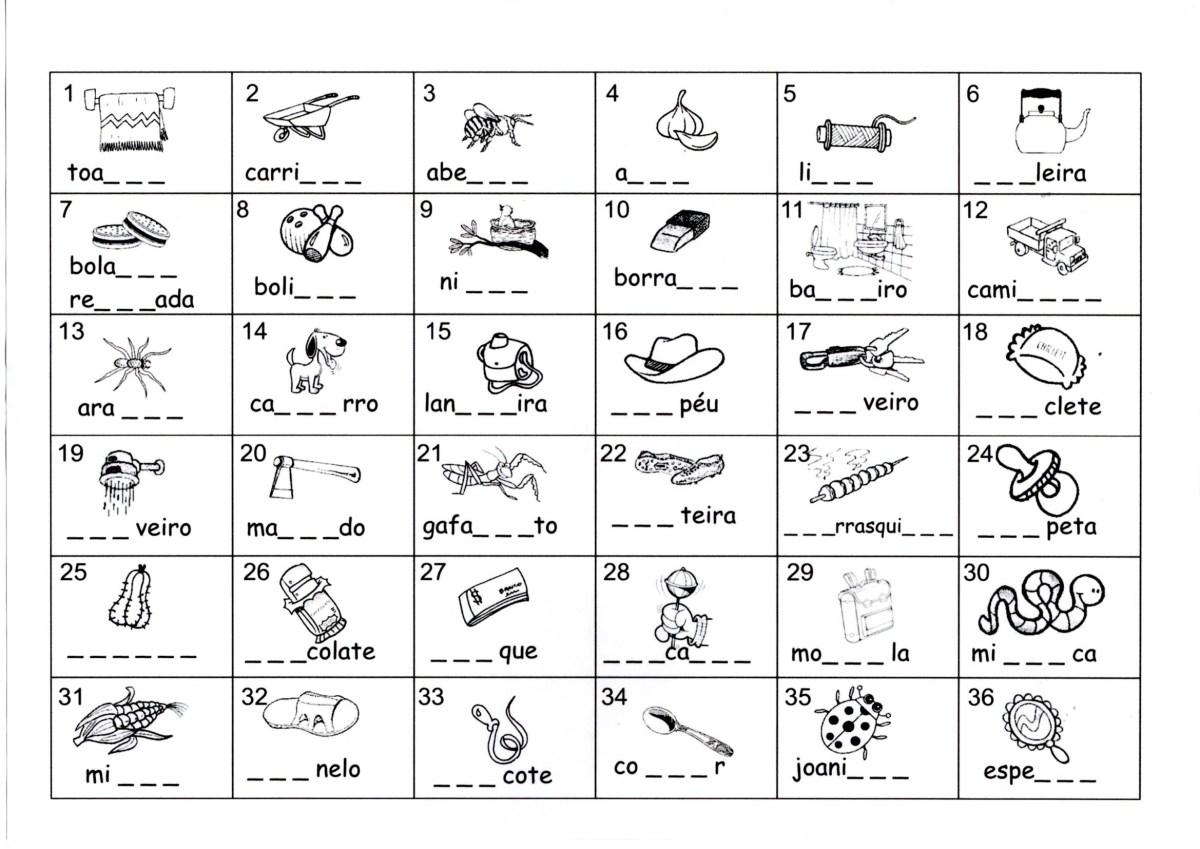 Dificuldades ortográficas NH-CH-LH