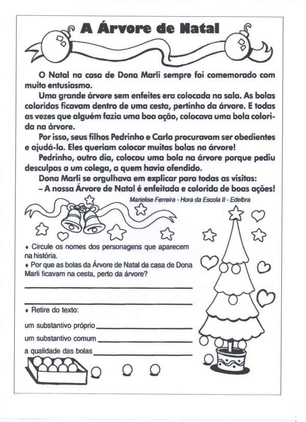 Interpretação de Texto Natal