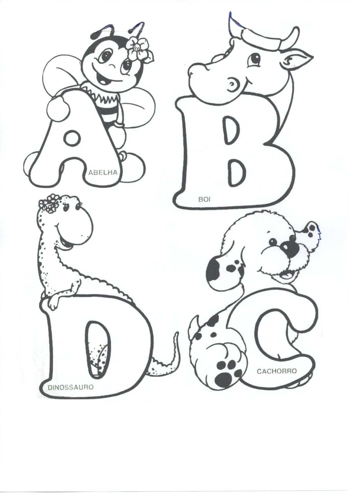 Alfabeto-Animais-Parte 1