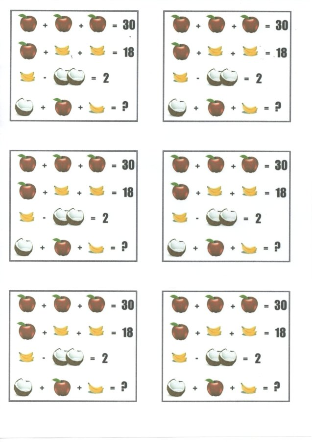 Atividades de Matemática - Enigma Matemático