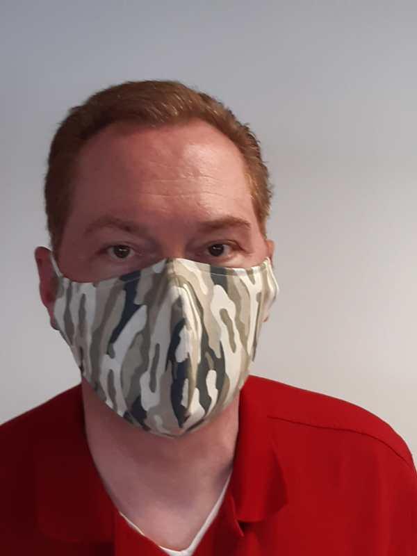 Mundschutz Schutzmaske Extra Gross Camouflage