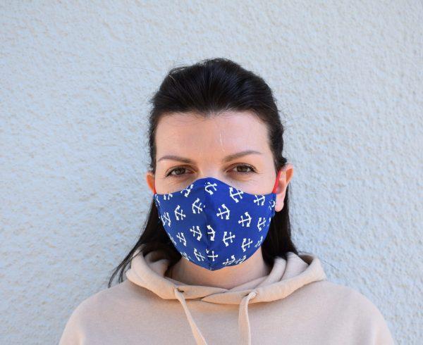 Behelfsmaske Gesichtsmaske Schutzmaske