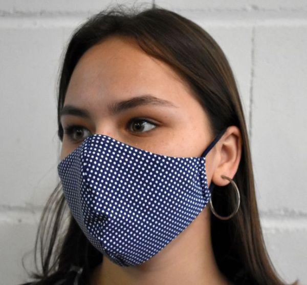 Mundschutz Behelfs Altags Maske
