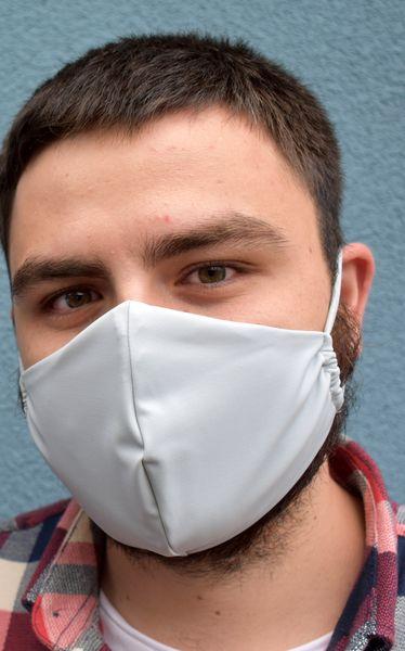 Schutzmaske,Gesichtsmaske,Behelfsmaske hellgrau