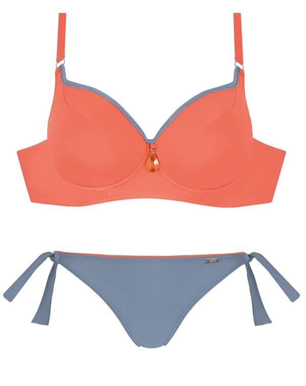 Bikini-Set Große Oberweite schmaler Umfang