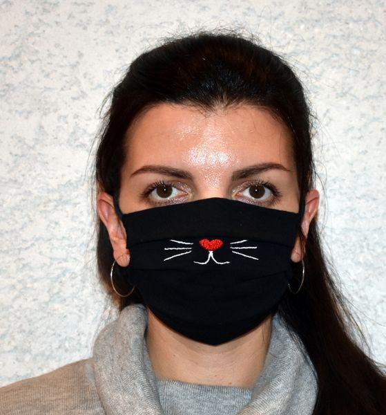 Mundschutz,Schutzmaske Katzengesicht, Katzenschnauze