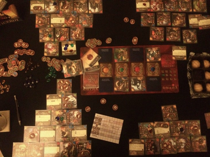 Viceroy, the whole table hogging 4 player thing