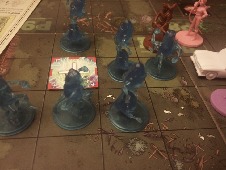 Ghostbusters the Board Game, what happens when you miss a gate too many times