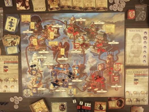 Top down view of Bioshock Infinite