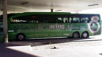 Autobús del Racing.