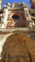Entrada principal a la catedral.