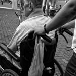 車椅子介護