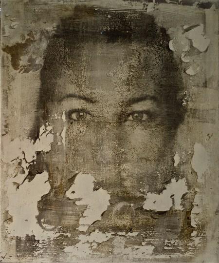 nosce nieneke - 2012 - 30x40cm - photographic emulsion on canvas