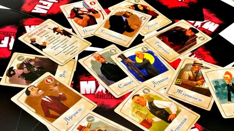 Мафия Вендетта: распечатать карточки