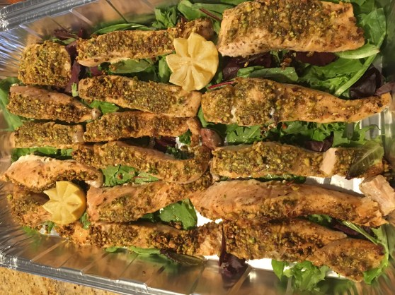 Photo Pistachio Encrusted Salmon