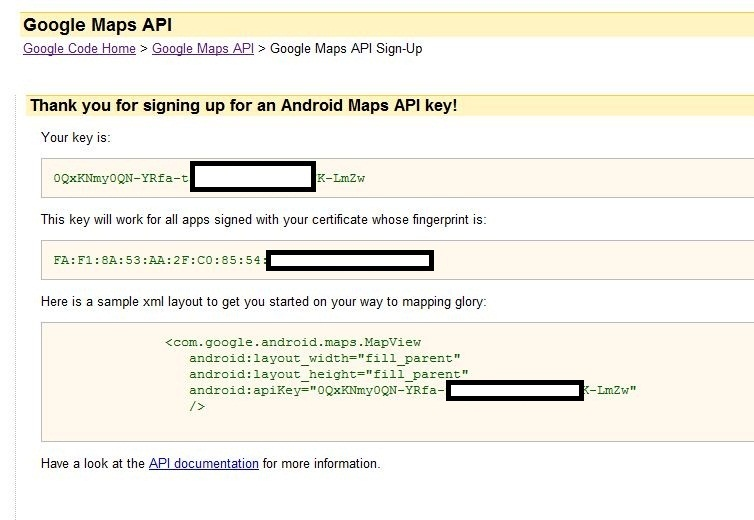 How to get Google Maps API Key for Android. Issues and Errors Solved. (6/6)