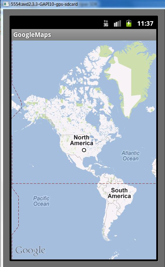 Android Google Maps Tutorial Part 1. Basic Development. (6/6)