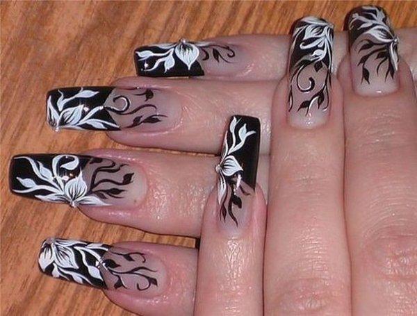 Наращивание ногтей формами: как подготовить ногти ...