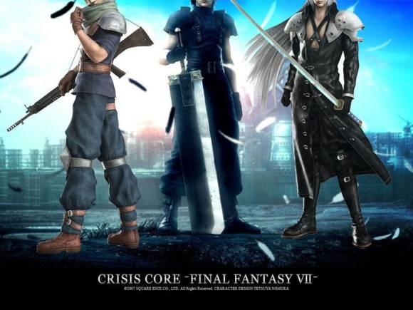 crisis core final fantasy 7