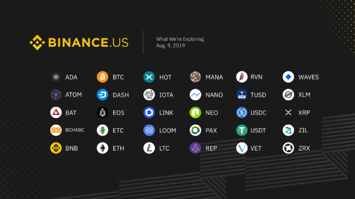 Binance listing 30 new tokens