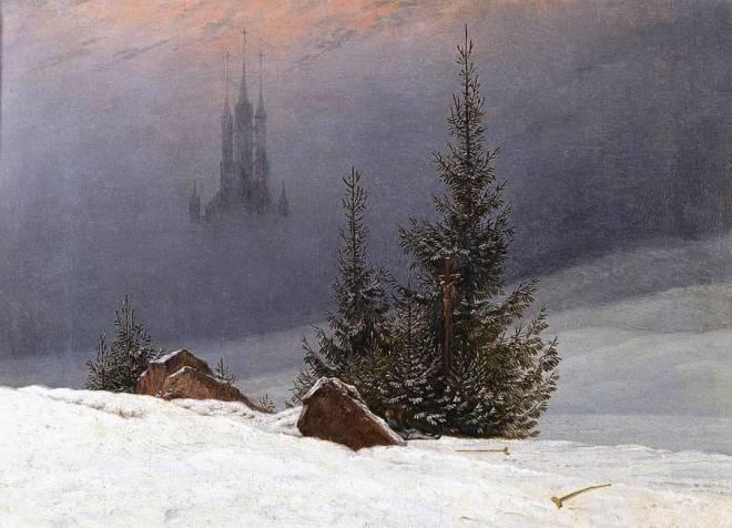Great Paintings: 'Winter Landscape' by Caspar David Friedrich