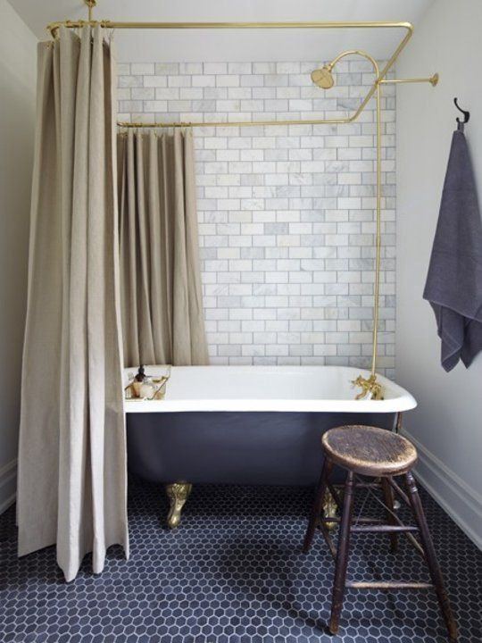 decorating with blue and gold