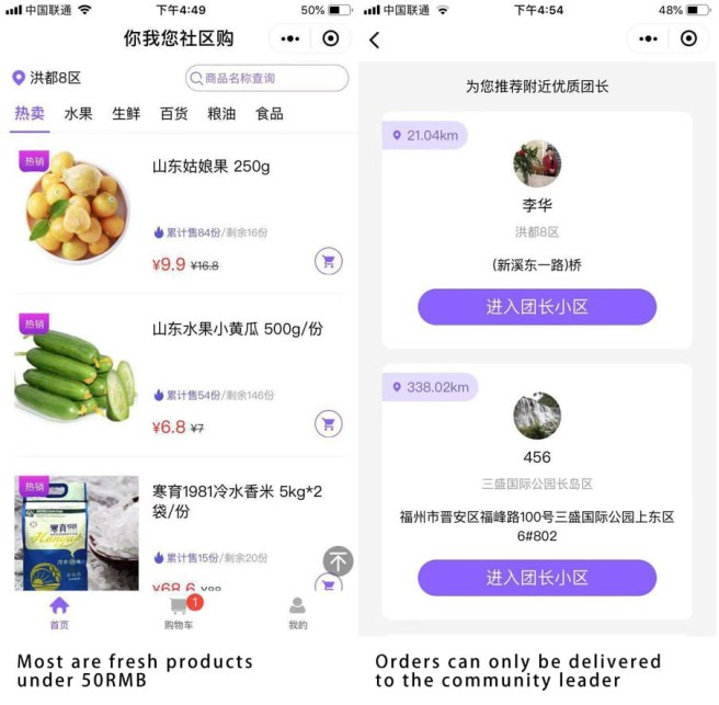 Community Group Buy in China