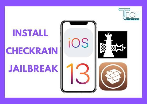 Install iOS 13.2.2/iOS 12.3/iOS 13 Checkra1n Jailbreak