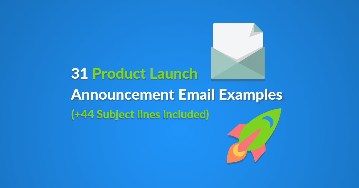 Promotional announcement emails aren't only to let people know you have a new product or service. 31 Product Launch Announcement Email Examples 44 Subject Lines By Mor Mester Automizy Medium