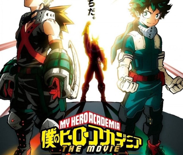 Movie My Hero Academia Heroesrising Mp Hd Free