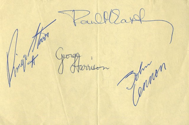Fake Rock & Roll Autographs May Outnumber the Real Ones!  by Neal