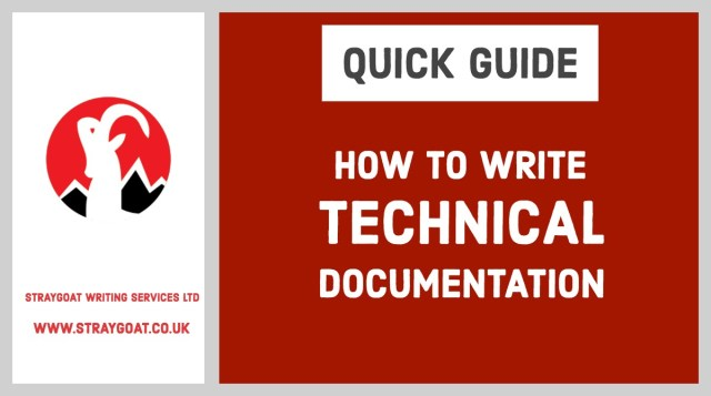 How to write technical documentation  by Craig Wright
