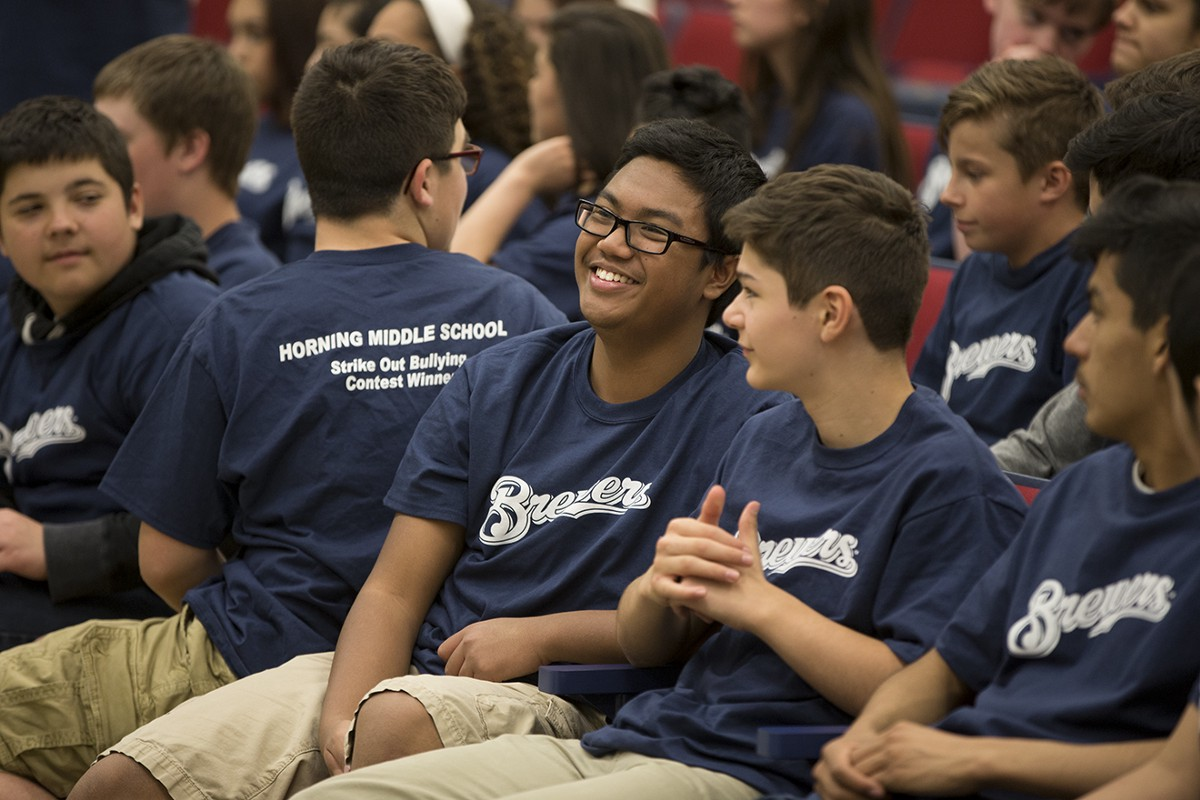 Students From Horning Middle School Win Strike Out