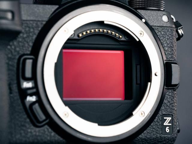 Nikon Z6 sensor