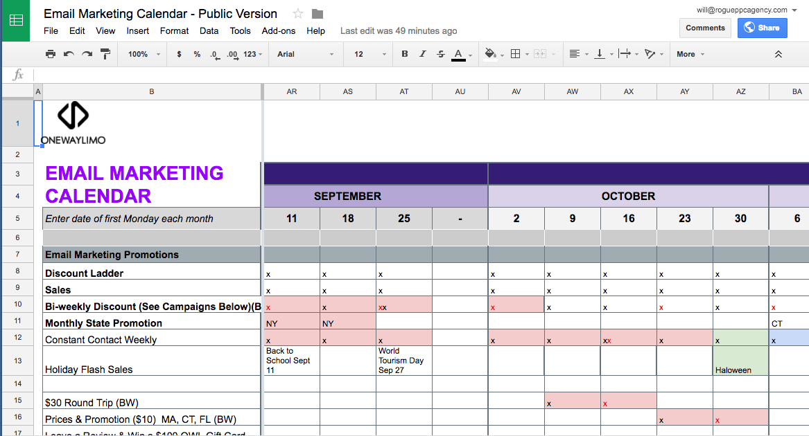 The things that you keep in your toolbox can help you in the success of your marketing goals. Steal These Templates Email Marketing Promotional Code Calendars By Will Haire Medium