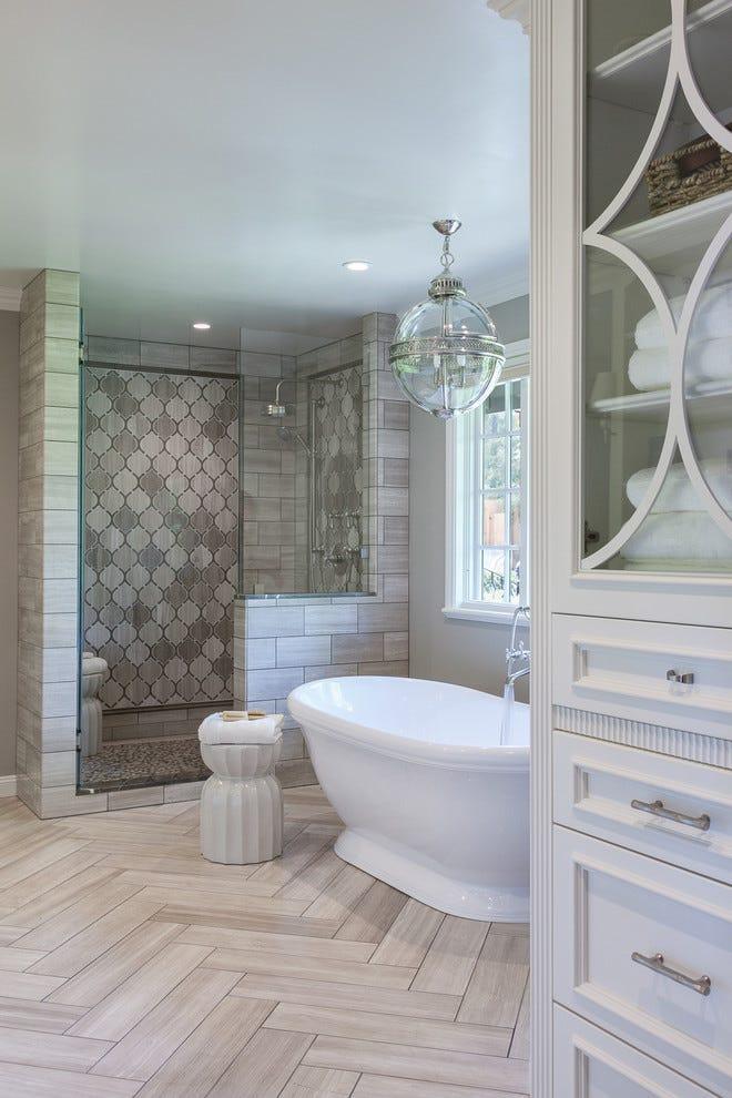 Top 4 Bathroom Tile Ideas for a Bathroom Renovation   by ... on Small:e_D8Ihxdoce= Bathroom Ideas  id=85701