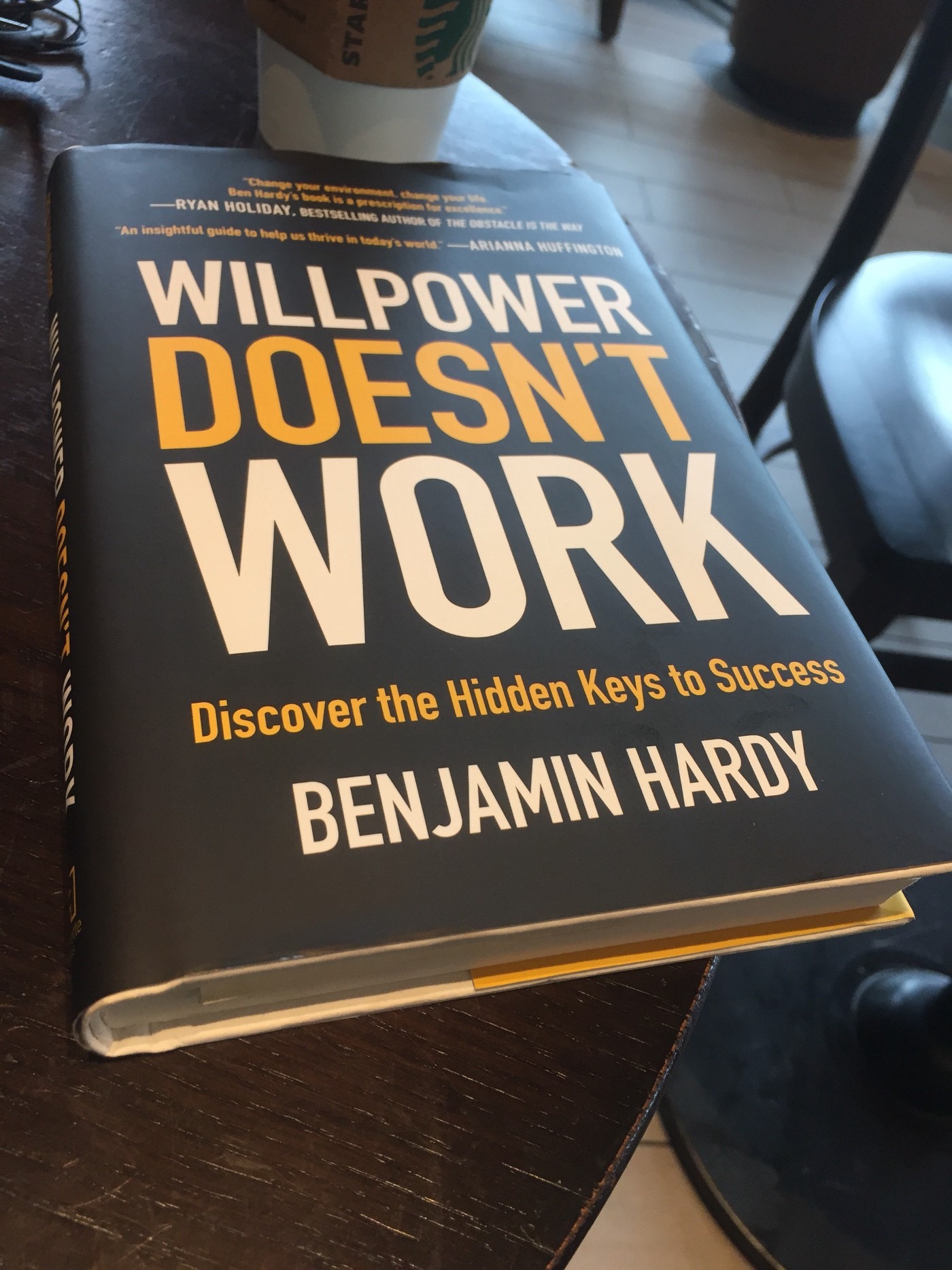 According To Benjamin P Hardy Your Willpower Doesn T Work