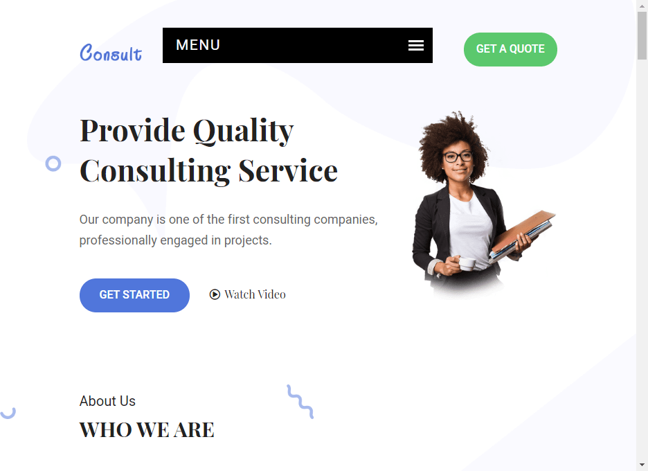 So, choosing among consulting website templates the one that offers the best ux is essential. 20 Best Consulting Website Templates In 2020 By Jan Limark Colorlib Medium