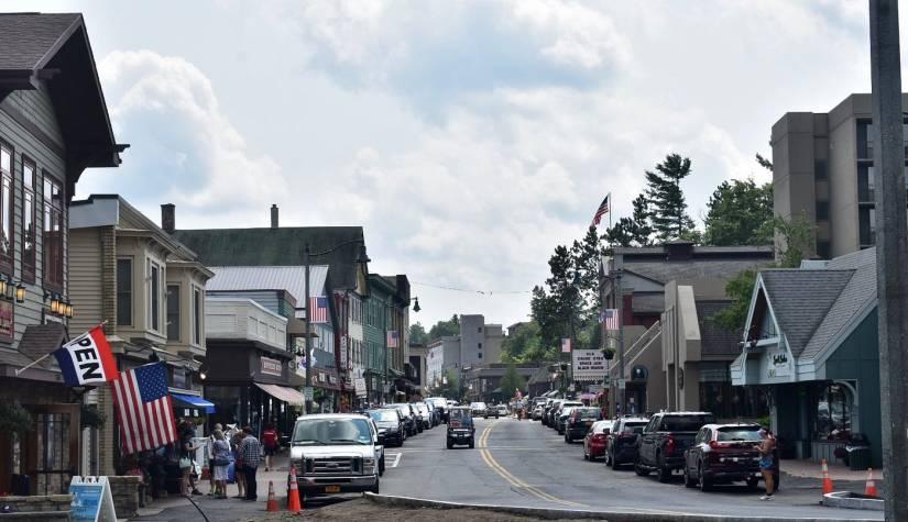 Main Street in Lake Placid, N.Y.