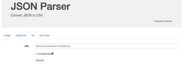 JSON parser do CSV - Padakův deníček