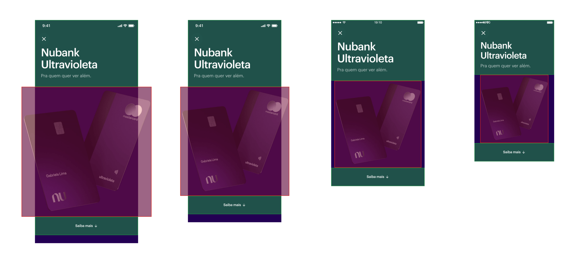 Ultravioleta: design for different screen sizes.