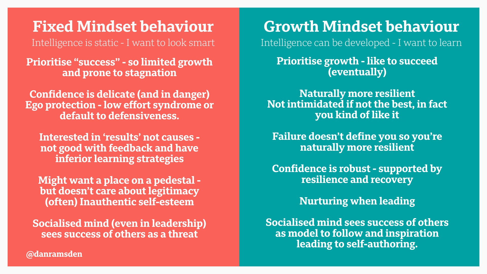 Professional Practice And A Growth Mindset
